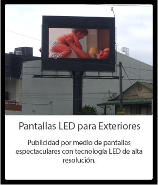 Pantallas LED para Exteriores Costa Rica