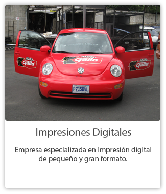 Impresiones Digitales Guatemala