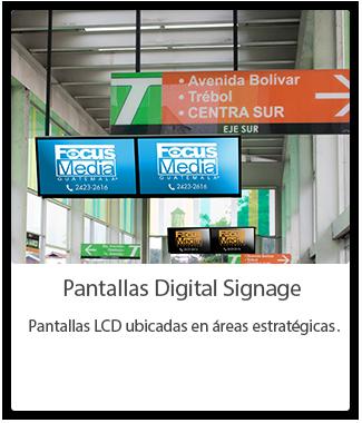Pantallas Digital Signage Guatemala